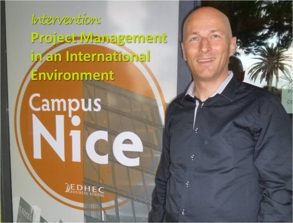 Project Management in an International Environment – Intervention at EDHEC Nice