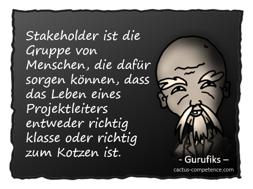 Stakeholder-Definition nach Gurufiks