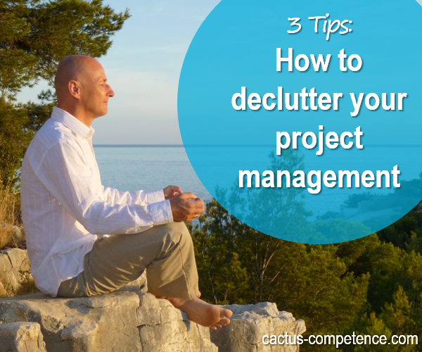 3 Tips - How to minimalise your project management