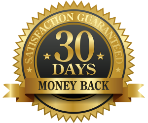 30 Days No Asked Money Back Guarantee