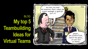 My top 5 Teambuilding Ideas for Virtual Teams