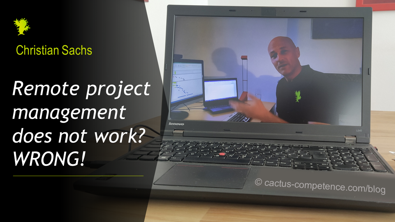 Remote project management does not work? WRONG!