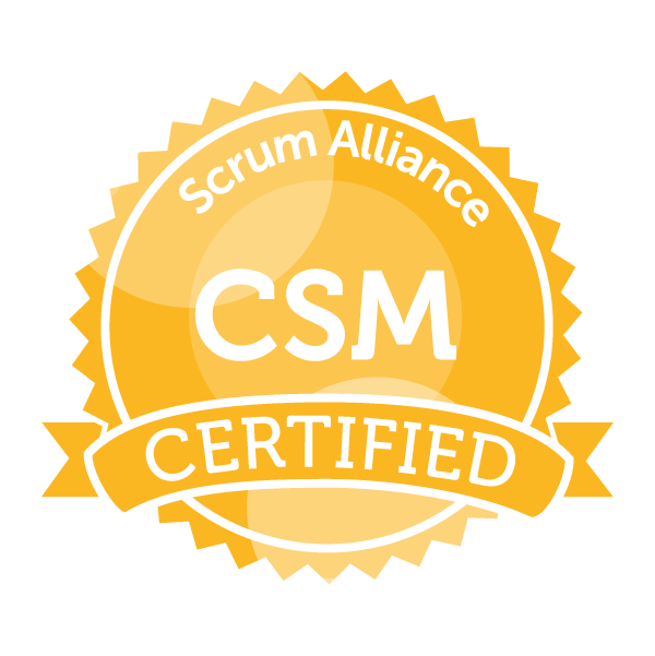Christian Sachs is Certified ScrumMaster
